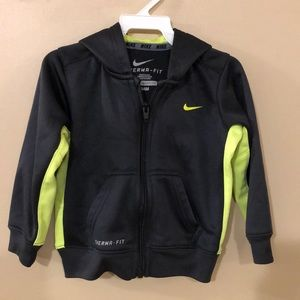 Nike Therma-Fit hooded jacket size 24M